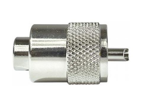 Connettore maschio   PL 259 R