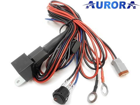 Cablaggio completo per   fari LED Aurora singoli