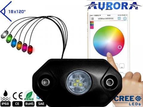 Rock Light RGB   Bluetooth remote