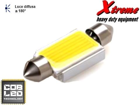 Lampada LED COB   Siluro 16x39 mm