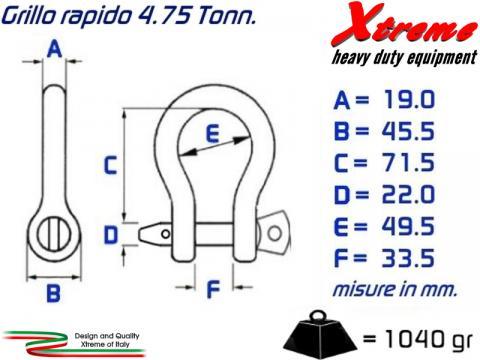 Grillo Rapido   Acciaio HD   4 75 Tonn