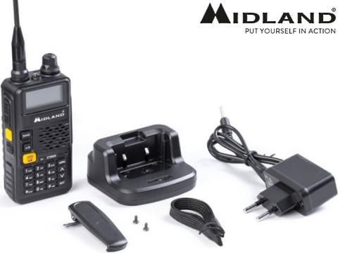 Radio ricetrasmittente   UHF VHF   Midland CT690