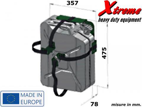 Porta tanica Xtreme   Cross Locking