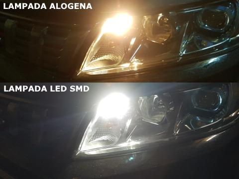 Lampada LED SMD   T10    6 Chips