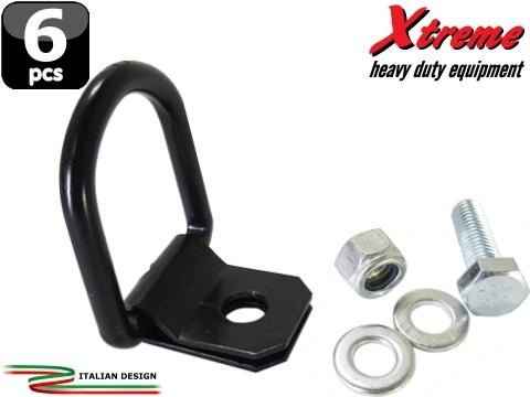 Xtreme Cargo Straps   Anello di ancoraggio    6 pz