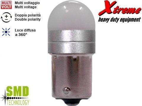 Lampada LED 3D   P21W   Bianco