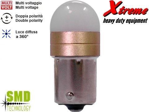 Lampada LED 3D   P21W   Giallo