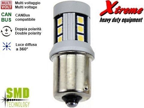 Lampada LED CANBus   P21W   Giallo