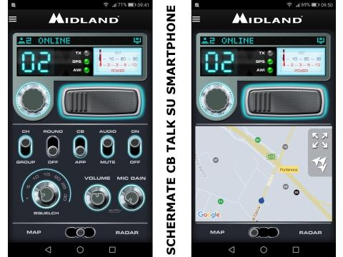 Midland Dual Mike  48   Bluetooth   CB Talk
