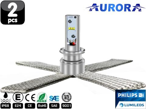 Lampade H3 LED   Aurora G10 Lumiled ZES