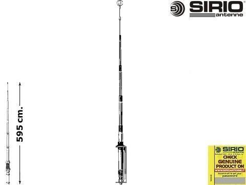Antenna CB fissa   Sirio GPS 1 2