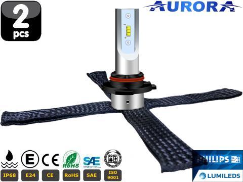 Lampade H11 LED   Aurora G10 Lumiled ZES