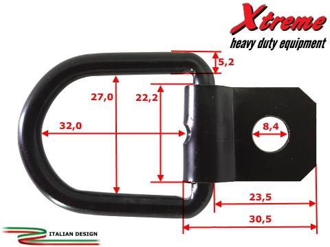 Xtreme Cargo Straps   Anchor rings    6 pcs