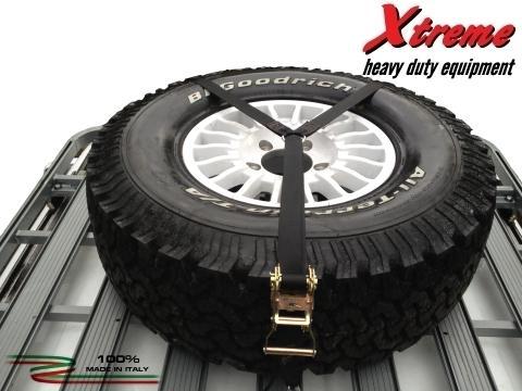 Xtreme Cargo Straps   Spare Wheel Strap