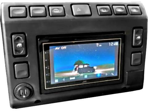 Consolle centrale 2 DIN  Land Rover Defender Td5