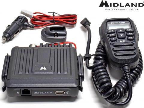 Kit Radio CB Midland   M 5   Antenna Sirio