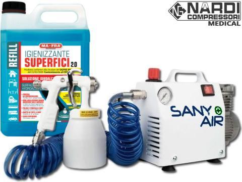 SANY AIR   Sanitizing  Environment Sanitization Kit