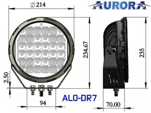 Faro LED RQ 180W   Combo   14200 lm
