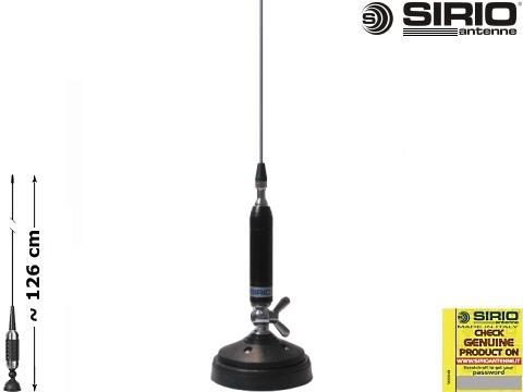 Antenna CB  veicolare   Sirio   Titanium 1200 MAG