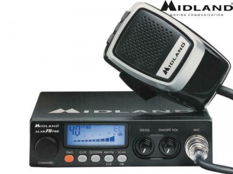 Radio CB ricetrasmittente   Midland Alan 78 PRO