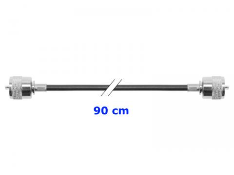 Cavo intestato   RG 58   90 cm