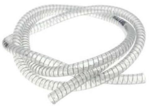 Tubo da 1 2 polllice in PVC   armato con spirale in acciaio