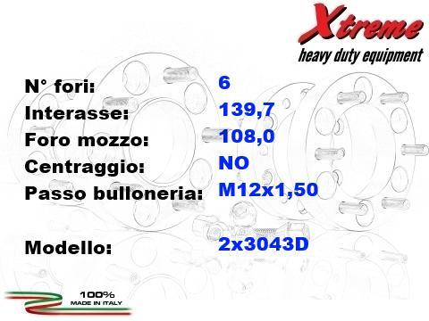 Xtreme distanziali ruote 4x4   Mitsubishi Pajero Sport