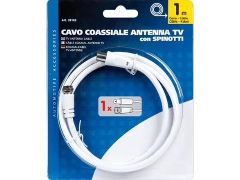 Cavo coassiale TV   spinotti TV TV SAT