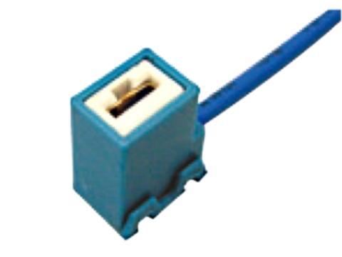 Connettore ceramico per    lampade H1 H3 uscita angolo
